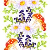 motyla opadowy kwiecisty kwiatów serca wzoru kolor żółty Obrazy Stock