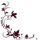motyla opadowy kwiecisty kwiatów serca wzoru kolor żółty Obraz Royalty Free