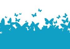 motyla papierowa szablonu ściana Fotografia Royalty Free