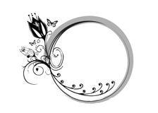motyla ramowy wektora Fotografia Royalty Free