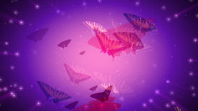 Motyla sen royalty ilustracja