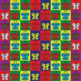 Motyla tło Obrazy Royalty Free