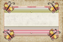 motyla świstek Obraz Stock