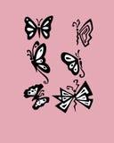 Motyle 3 ilustracja wektor