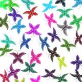 motyle barwili wielo- Obrazy Stock