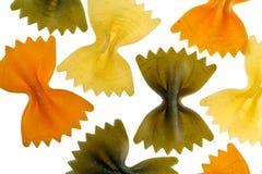 motyle coloured wielo- spagetti Zdjęcia Stock