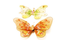 motyle dekoracyjni Obraz Stock