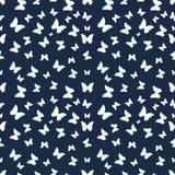 motyle deseniują bezszwowego Obrazy Royalty Free