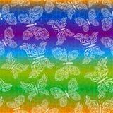 motyle deseniują bezszwowego Zdjęcia Royalty Free