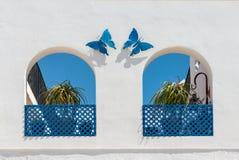 Motyle i łuki Fotografia Stock