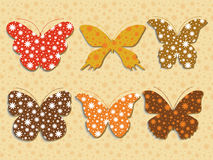 motyle odłogowania Obrazy Stock