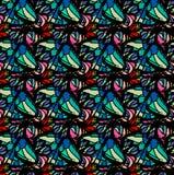 motyle rysujący mikrotelefon Entomologiczna kolekcja wysoce szczegółowy Obraz Stock