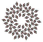 motyle rysujący mikrotelefon Obrazy Royalty Free