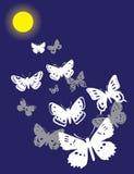 motyle target1287_1_ lekką księżyc ilustracja wektor