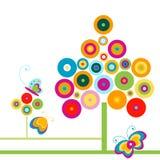 motyli drzewa Zdjęcia Royalty Free
