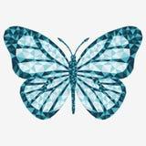 8 motyli eps odizolowywający wektor Fotografia Royalty Free