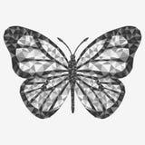 8 motyli eps odizolowywający wektor Zdjęcia Royalty Free