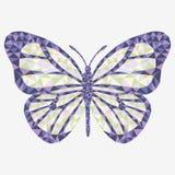 8 motyli eps odizolowywający wektor Obraz Royalty Free