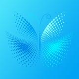 motyli halftone Zdjęcie Stock