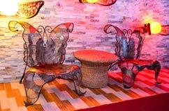 Motyli krzesła Obrazy Stock