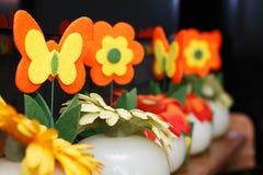 motyli kwiaty Zdjęcia Royalty Free