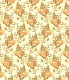 motyli kwiecisty wzór ilustracja wektor