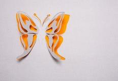 Motyli origami Obrazy Royalty Free