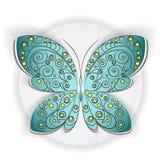 Motyli ornament Zdjęcie Royalty Free