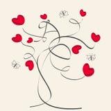 motyli serca ilustracja wektor
