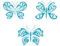 motyli tatuaż ilustracji