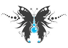 motyli tatuaż Zdjęcie Royalty Free