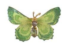 Motylia broszka Obrazy Royalty Free