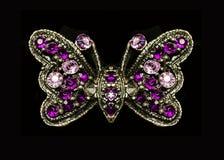 Motylia broszka Obraz Royalty Free