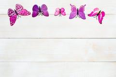 Motylia dekoracja Obraz Stock