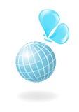 motylia globe wody ilustracji