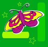 motylia ilustracja Fotografia Stock