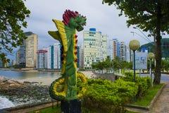 Motylia smok statua zdjęcie royalty free