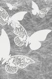 Motylie ślubu miejsca karty Zdjęcia Stock