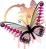 motylie purpury Obraz Stock