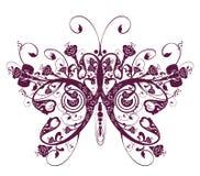 motyliego kwiatu wzór Zdjęcie Stock