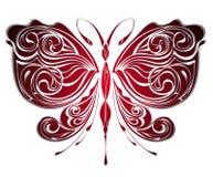 motyliego projekta tajemniczy tatuaż ilustracji