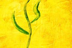 motyw abstrakcyjne liści Obrazy Stock
