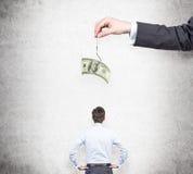 Motywacja pieniądze zdjęcie stock