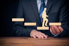 Motywacji i wyzwania pojęcia zdjęcie stock