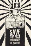 Motywacyjny plakat, plakat, obrazek w retro ilustracji