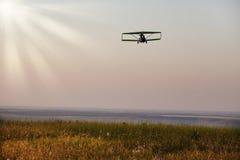 Mouche au coucher du soleil Photographie stock libre de droits