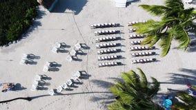 Mouche au-dessus d'emplacement de cérémonie clips vidéos