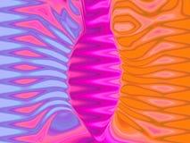 Mouche colorée Photo libre de droits