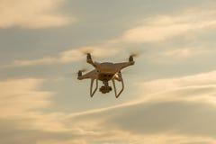 Mouche de bourdon dans le ciel Photos libres de droits