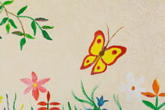 Mouche de papillon Photo stock